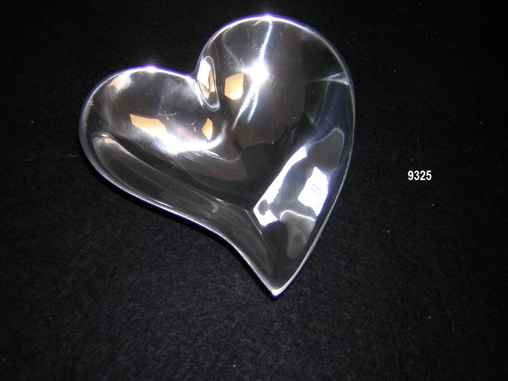 BOT. CORAZON MODERNO HONDO/ DEEP HEART PLATTER